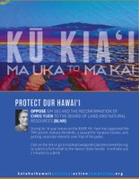 KAHEA's Opposition to GM 583 confirming the nomination of Chris Yuen